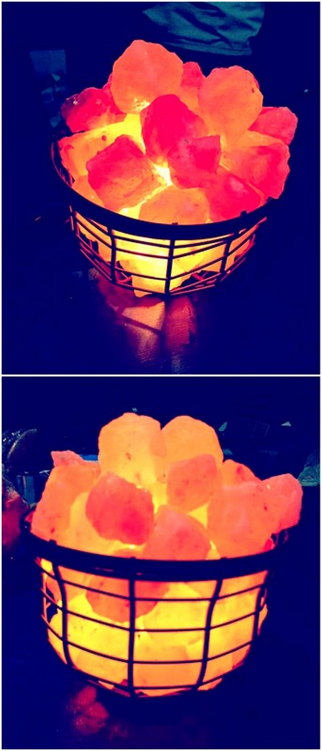 Amazing Pallet Salt Lamp
