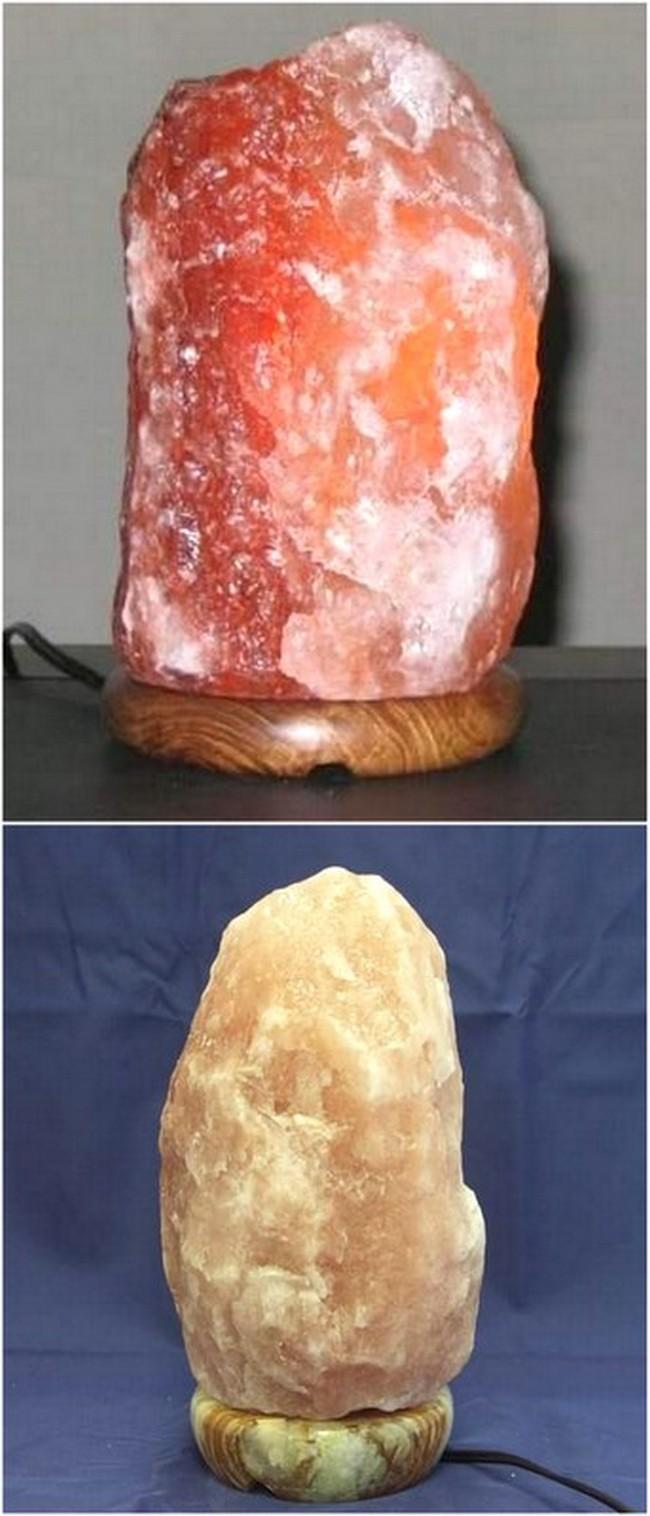 First Himalayan Salt Lamp Design