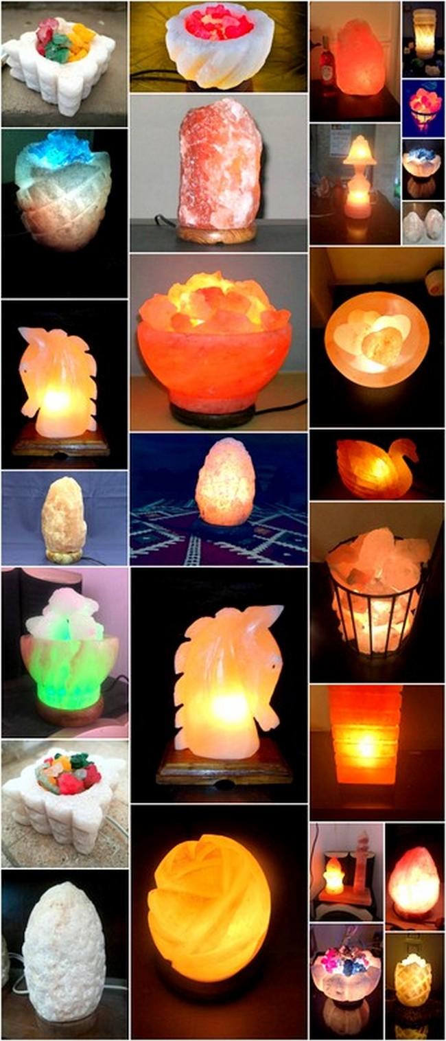 Salt Lamp Projects