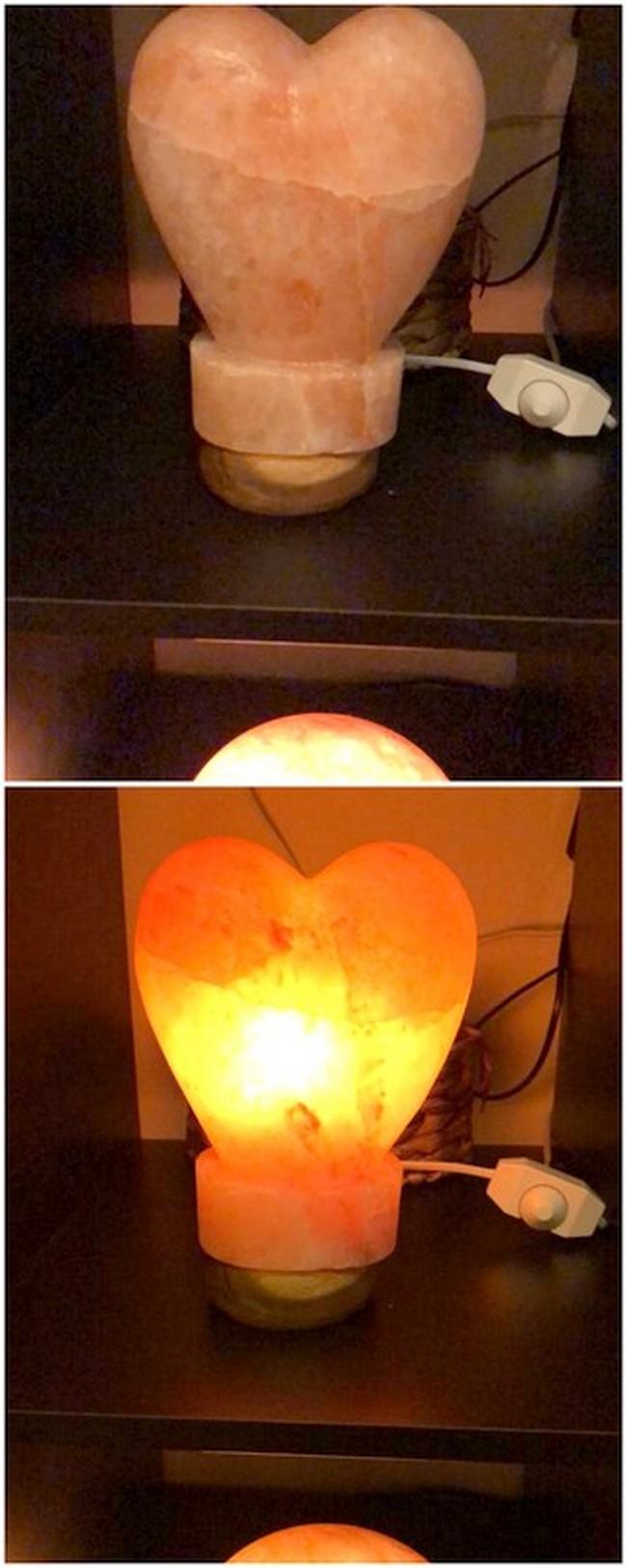 Heart ShapedNatural Salt Lamp