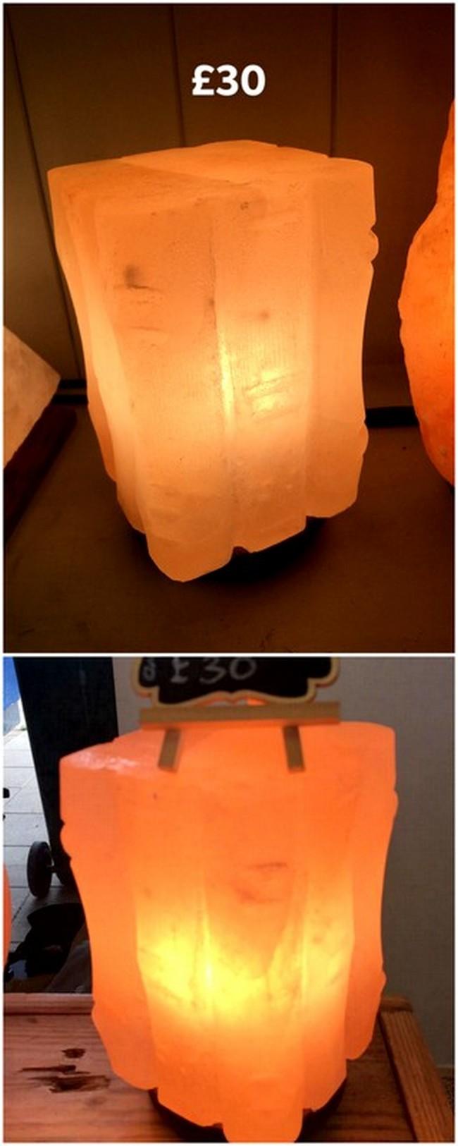Himalayan Salt Lamp Cube Shape
