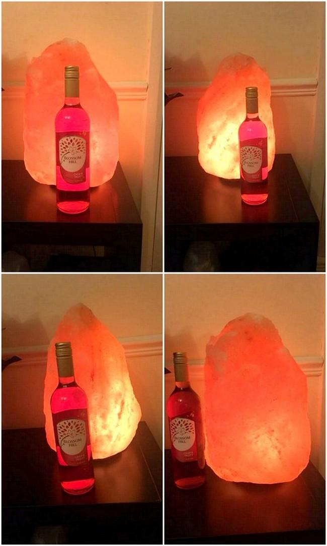 Crafted Salt Lamp
