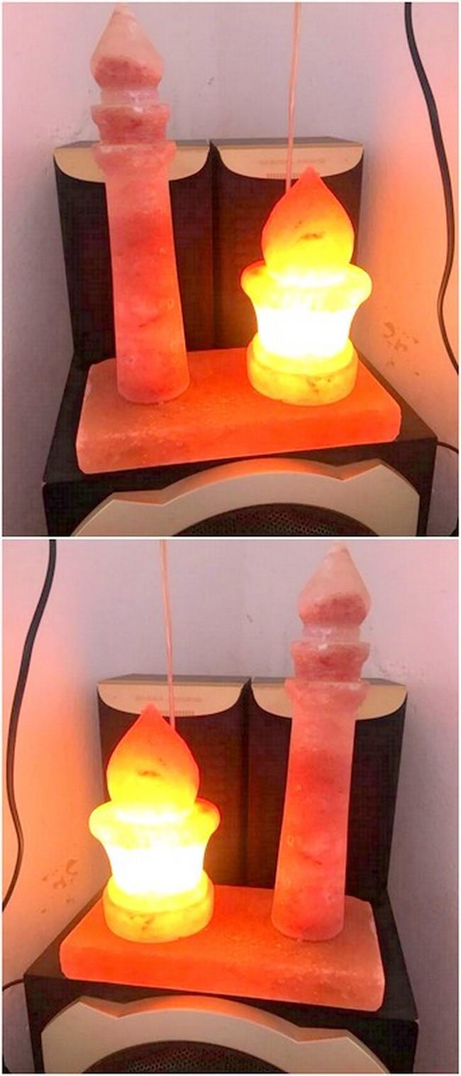 Attractive Pallet Salt Lamp