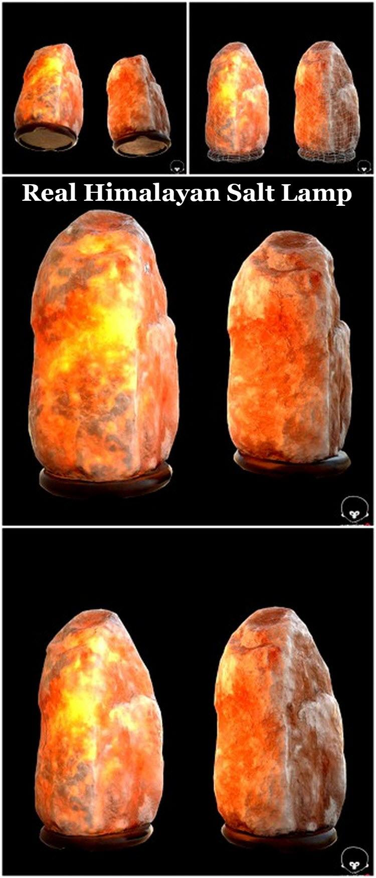 Royal Salt Red Salt Lamp