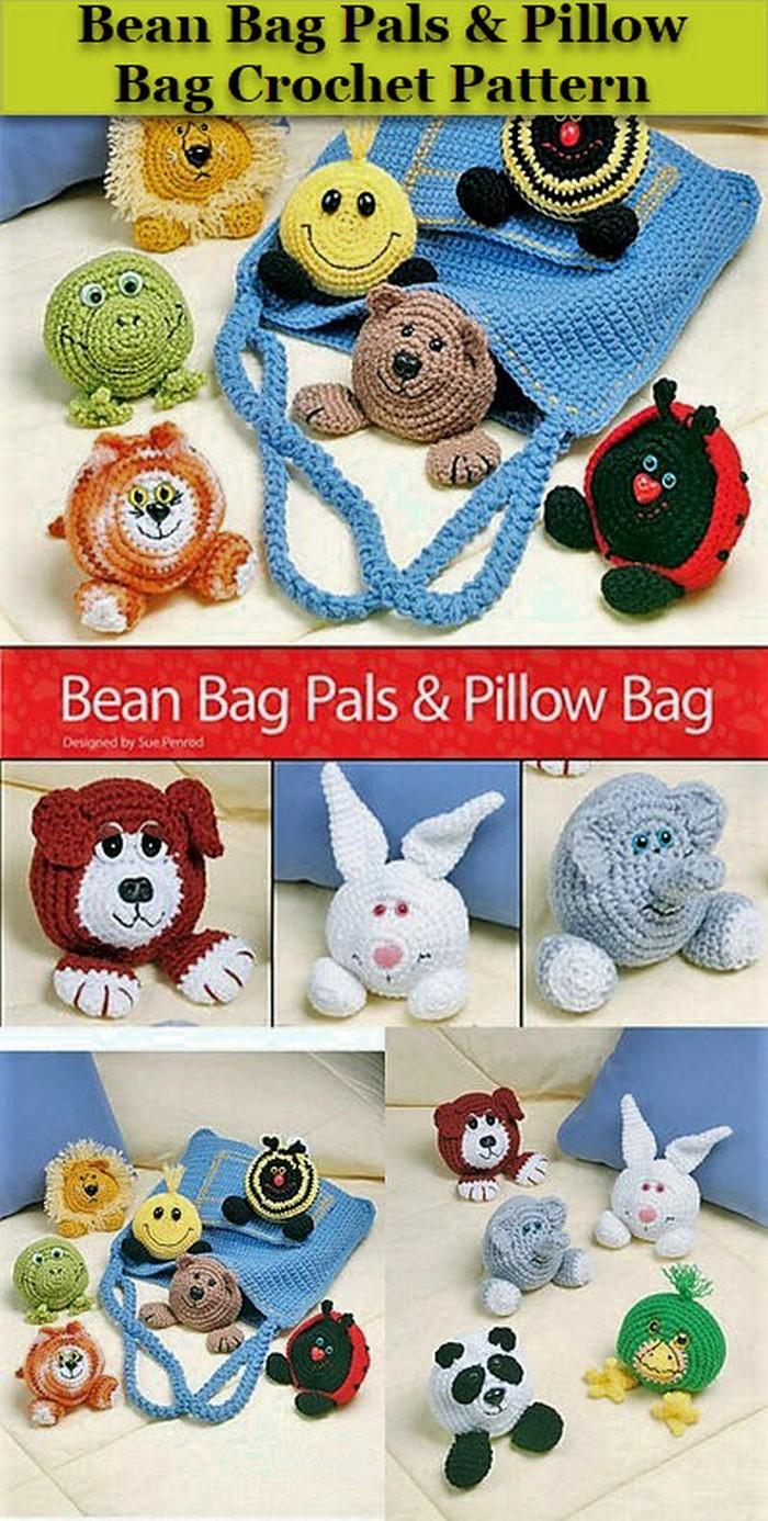 Pillow Bag Crochet Pattern