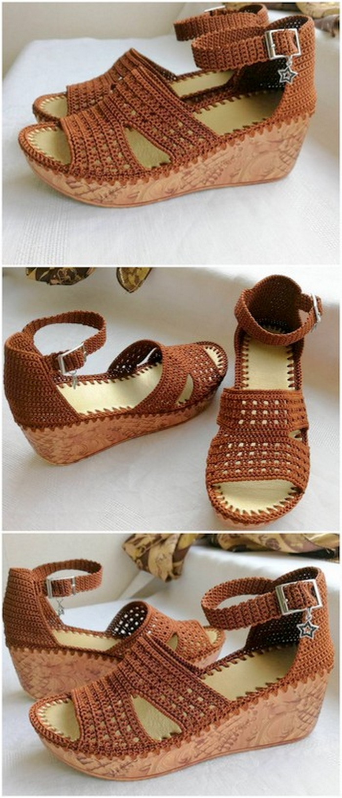 Unique crochet shoes for girls