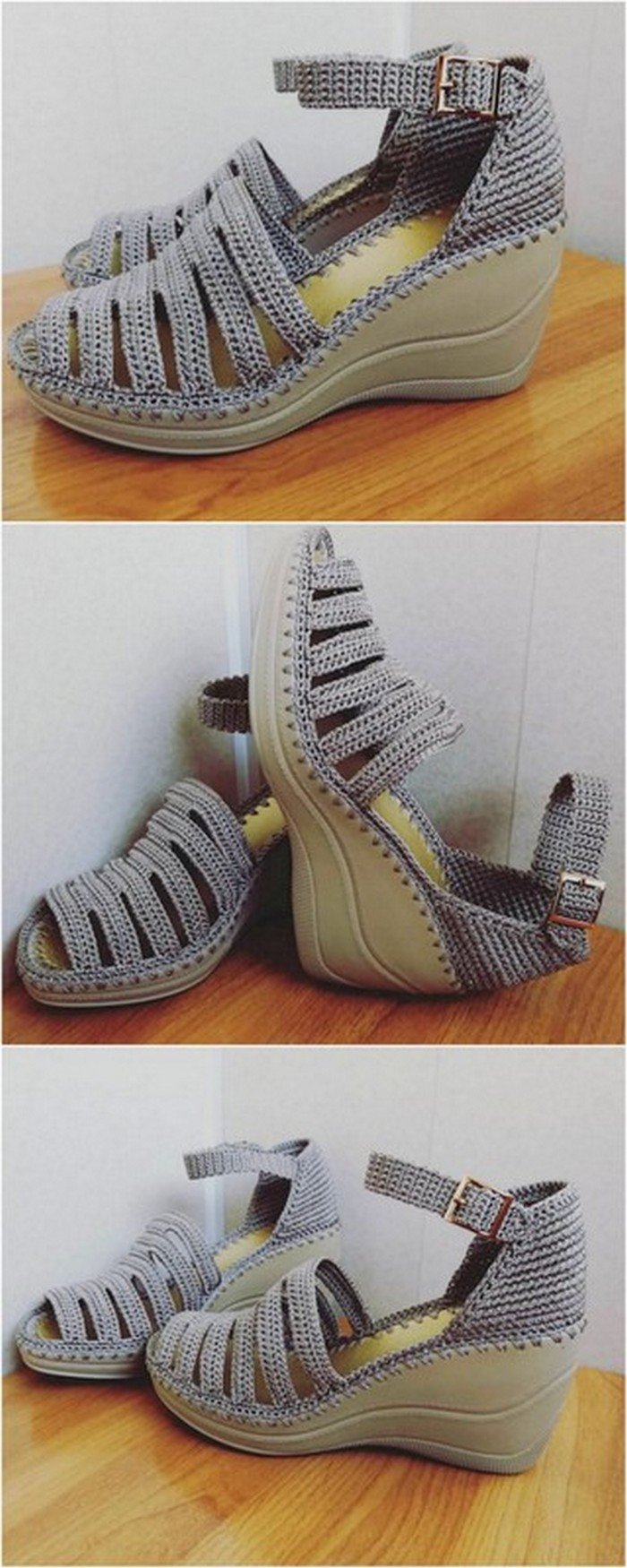 amazing crochet shoes project