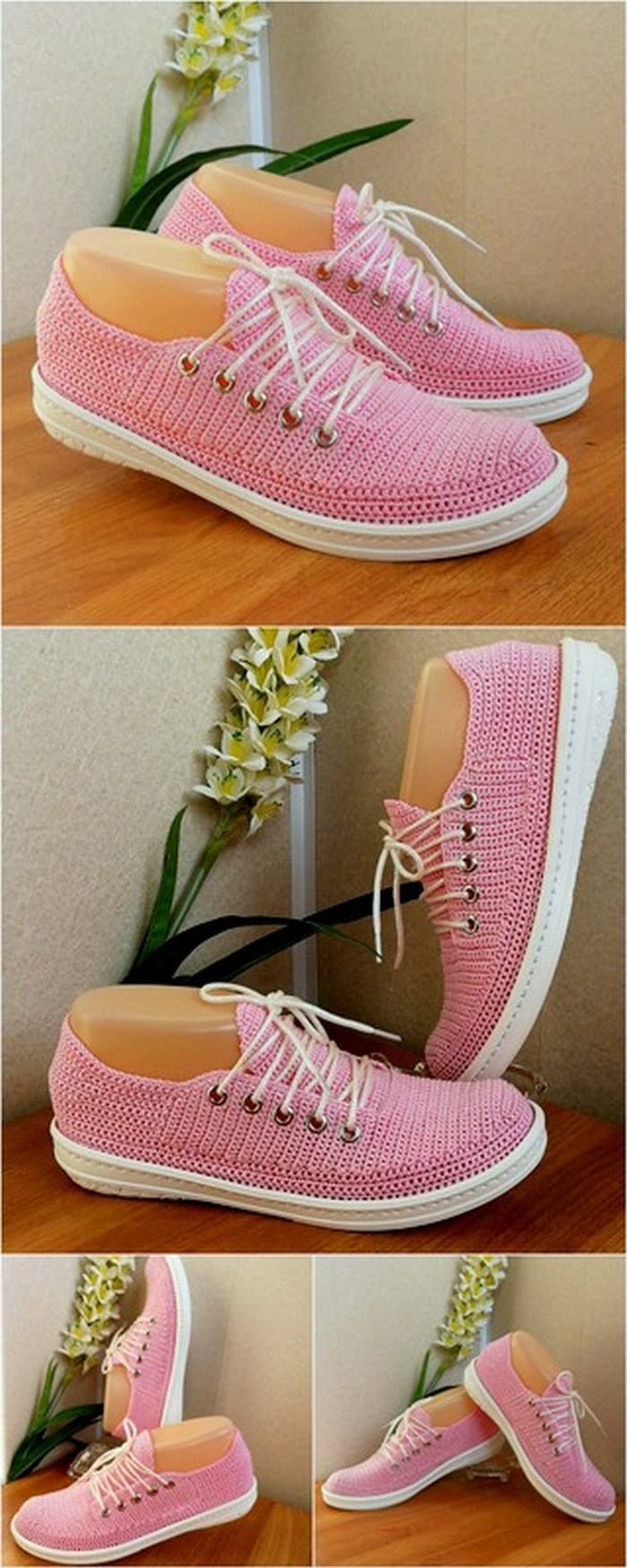 adorable crochet shoes design