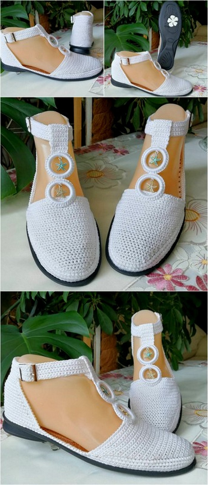 incredible crochet shoes design