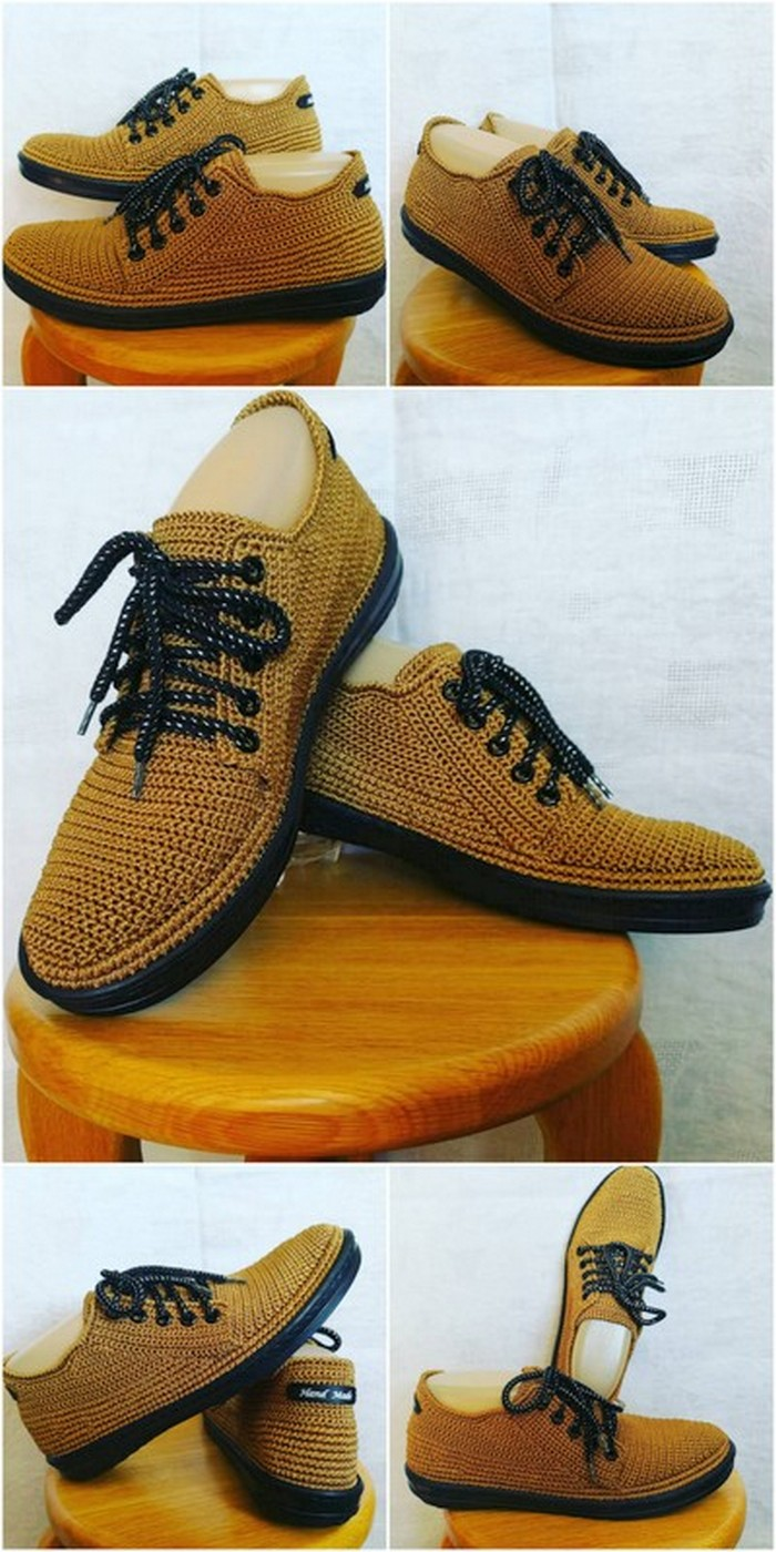 best crochet shoes for men