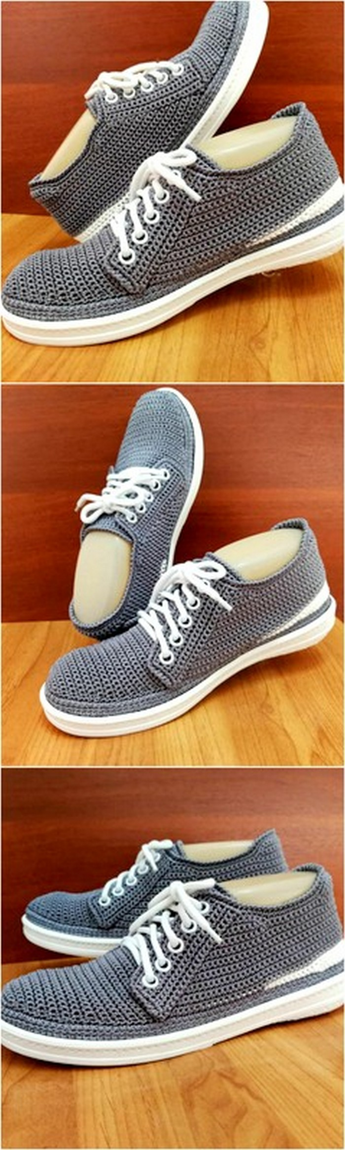 interesting design of crochet shoes for you