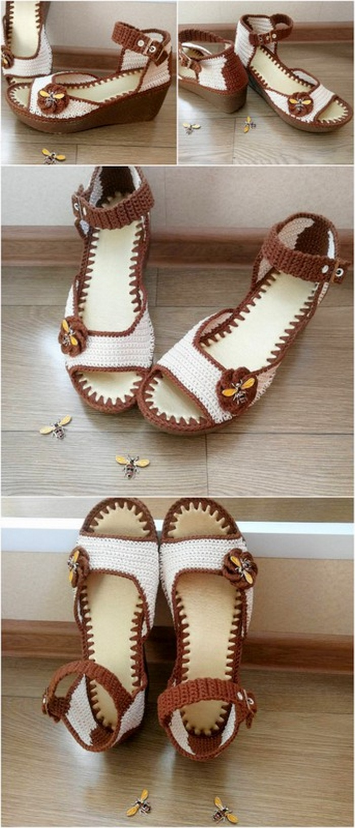 stylish crochet shoes for ladies