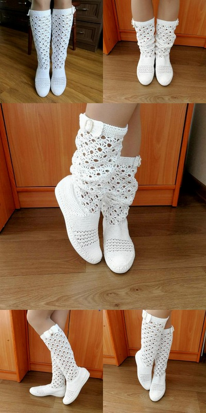 useful crochet shoes design