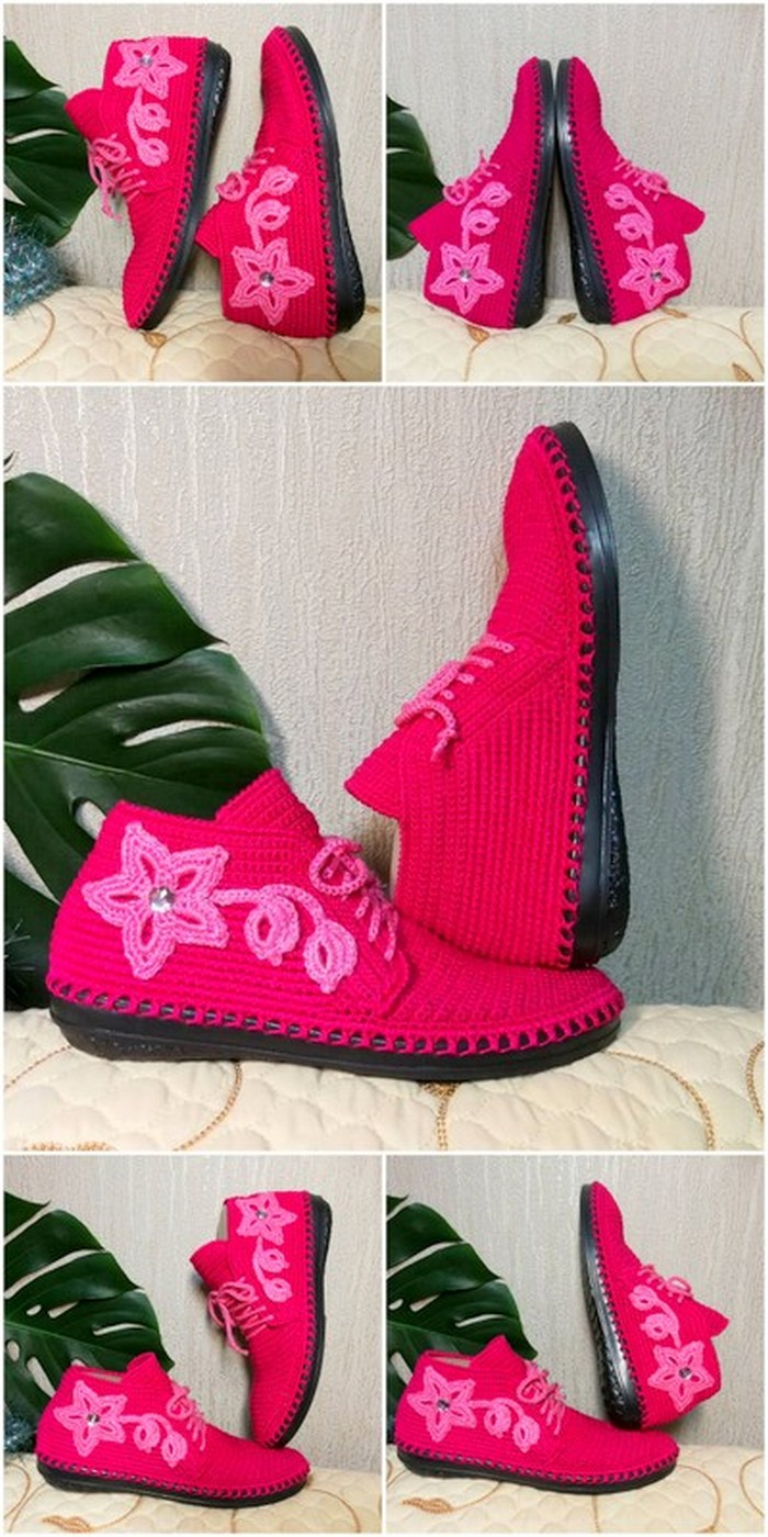best crochet shoes design for girls