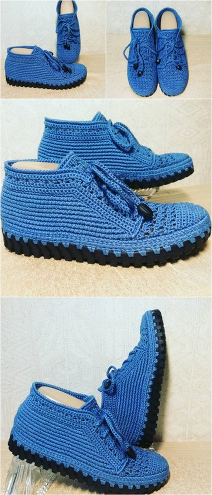 incredible crochet shoes plan