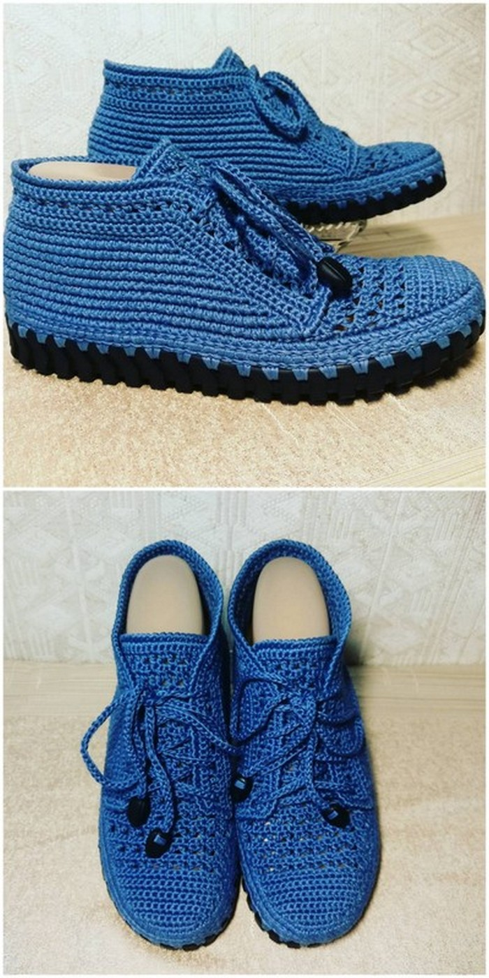useful crochet shoes idea