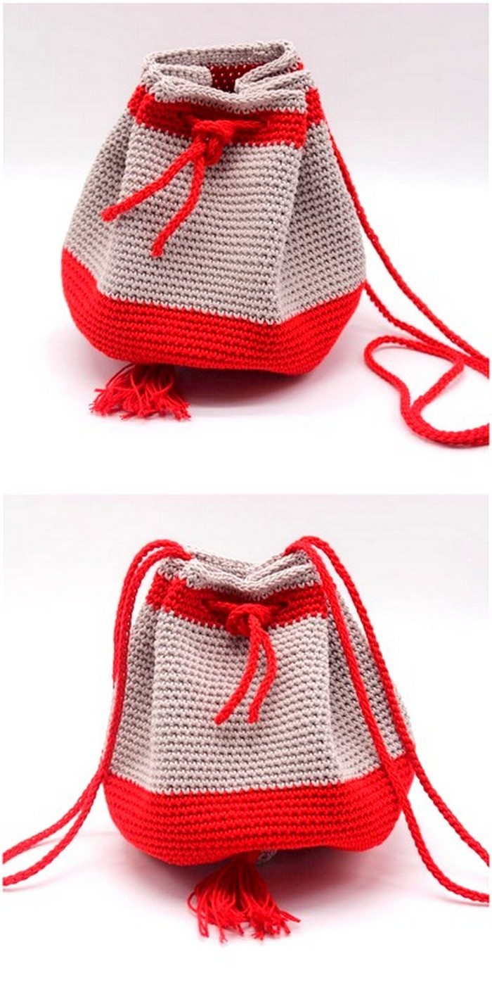 incredible crochet bag design