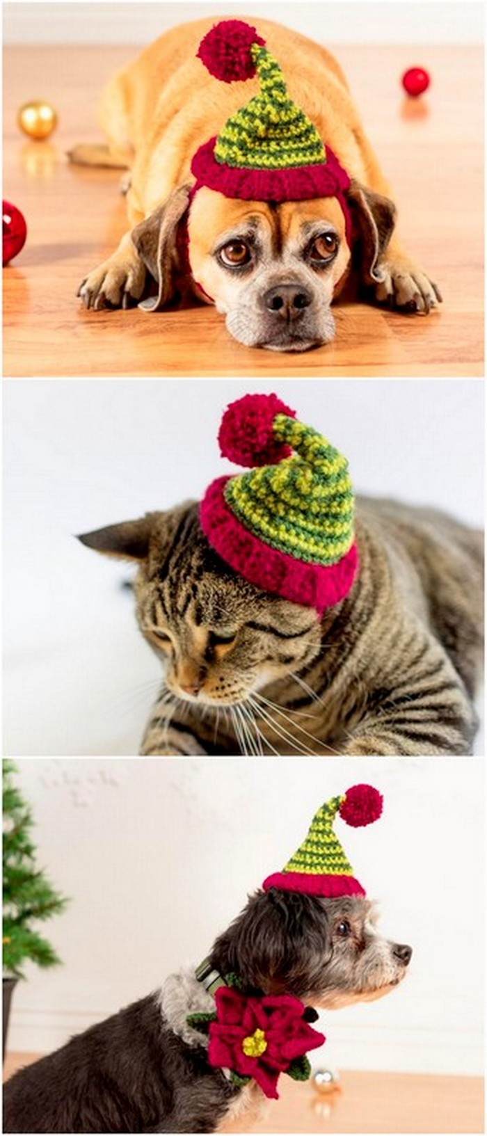 lovely crochet project for pets