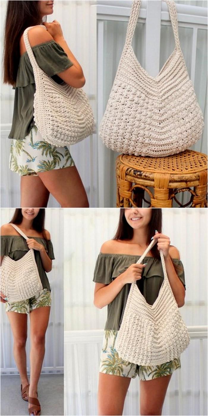 appealing crochet bag project