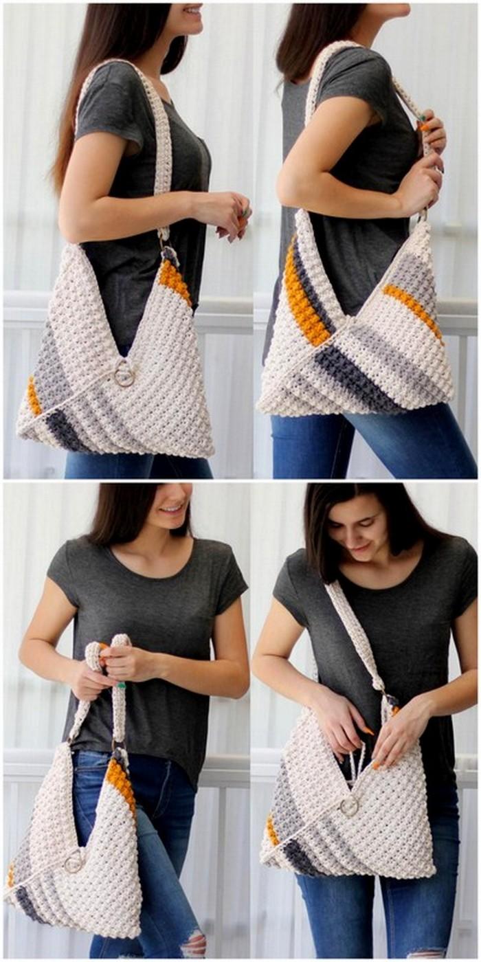 fantastic DIY crochet pattern for bag