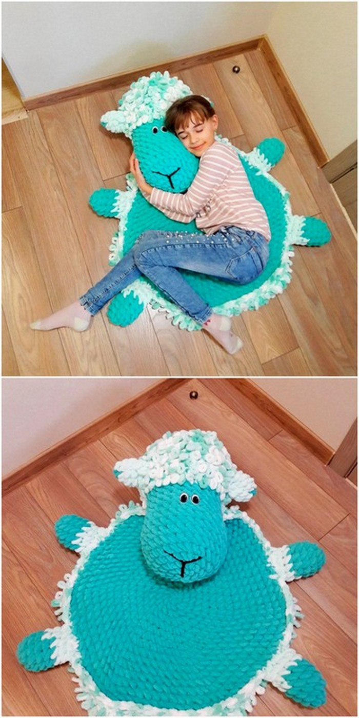 eye-catching crochet pattern