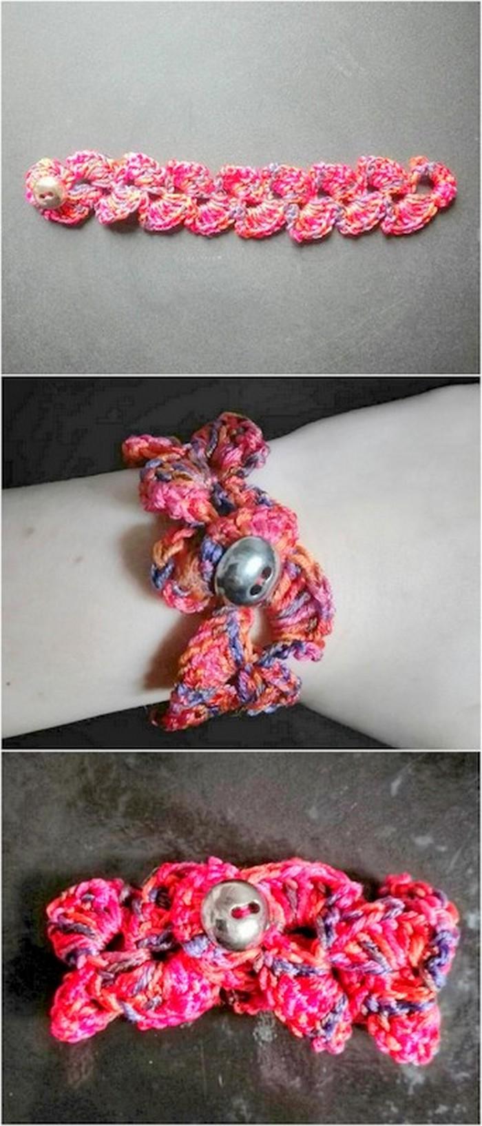 best crochet bracelet design