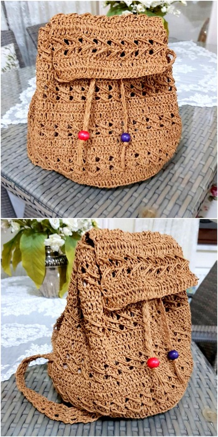 stylish crochet bag project for you