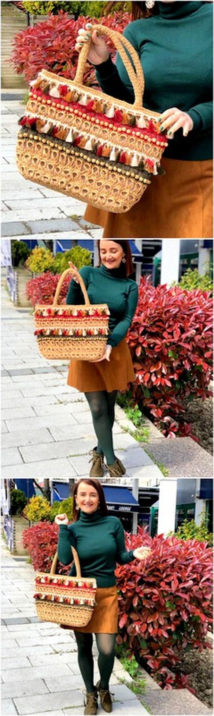 top crochet bag idea
