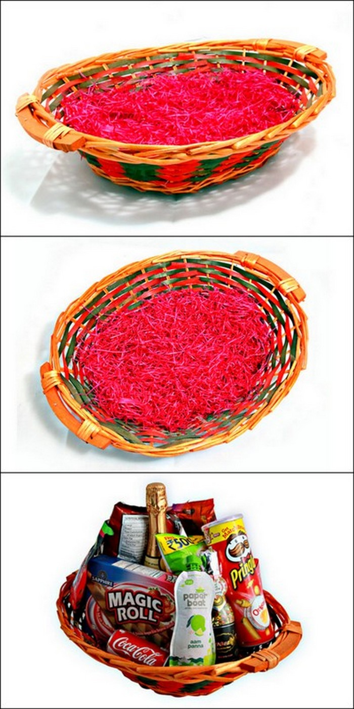 easy gift basket idea and design