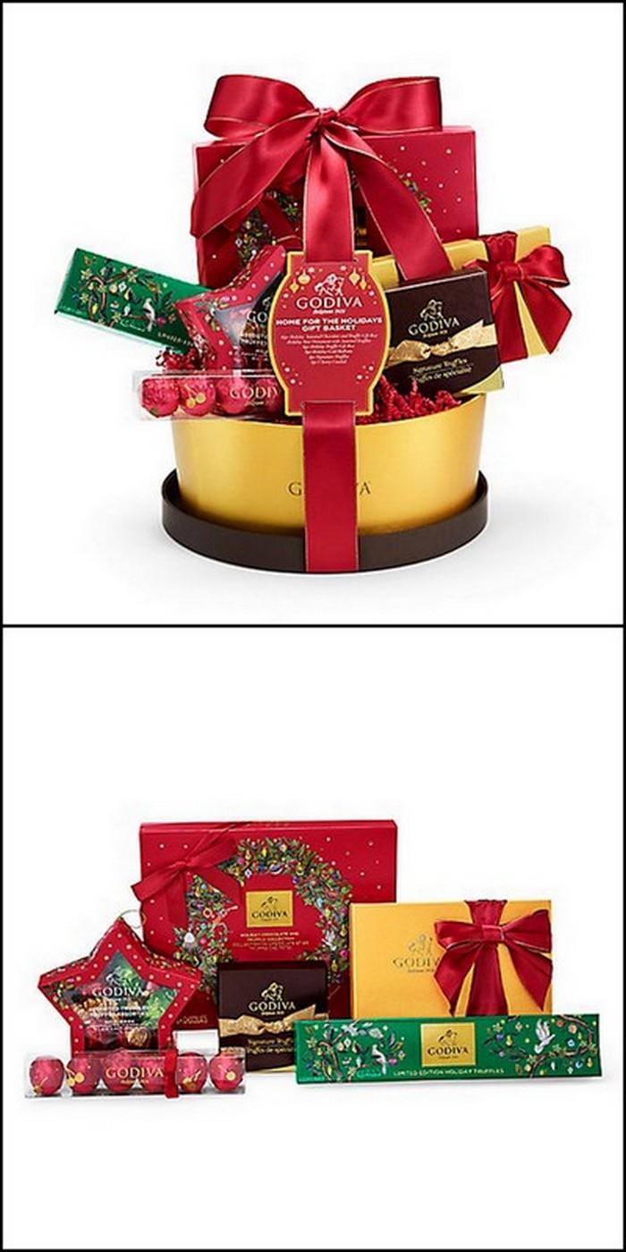 modern style gift basket idea