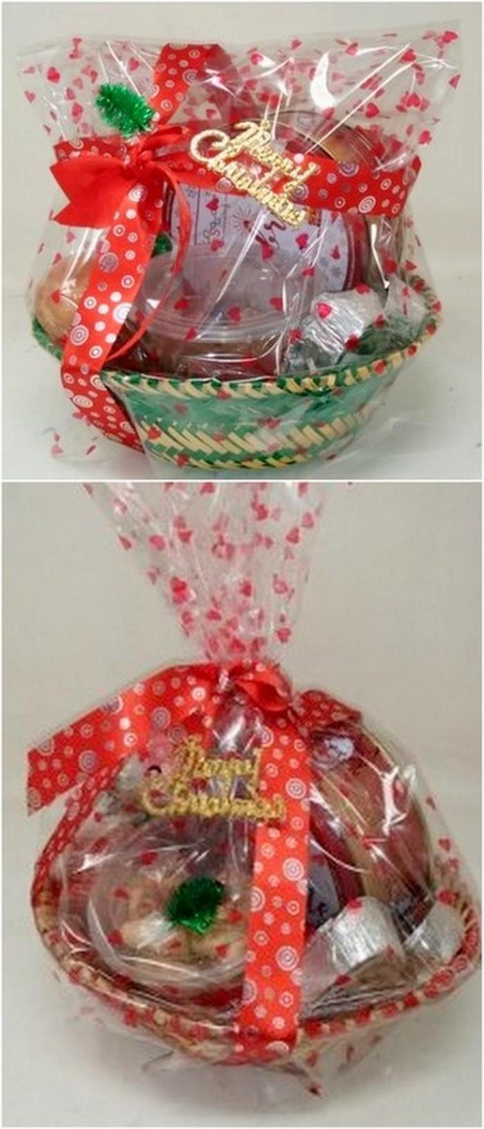 interesting design of gift basket