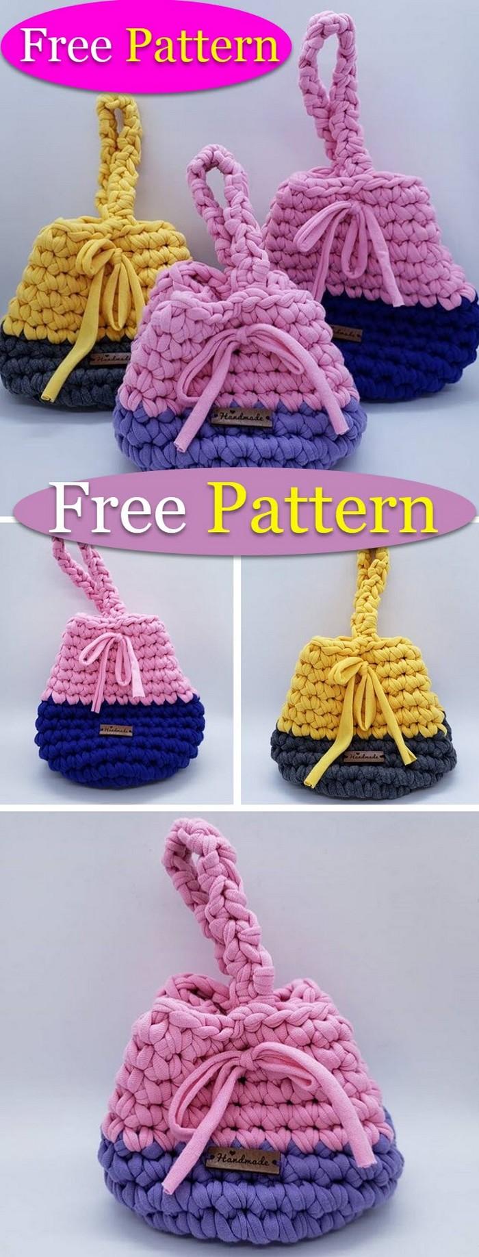 Crochet Easy Bags pattern