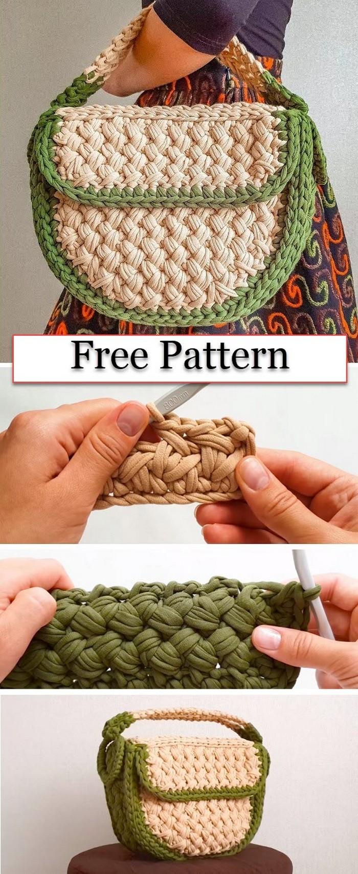 Crochet Pretty Handbag