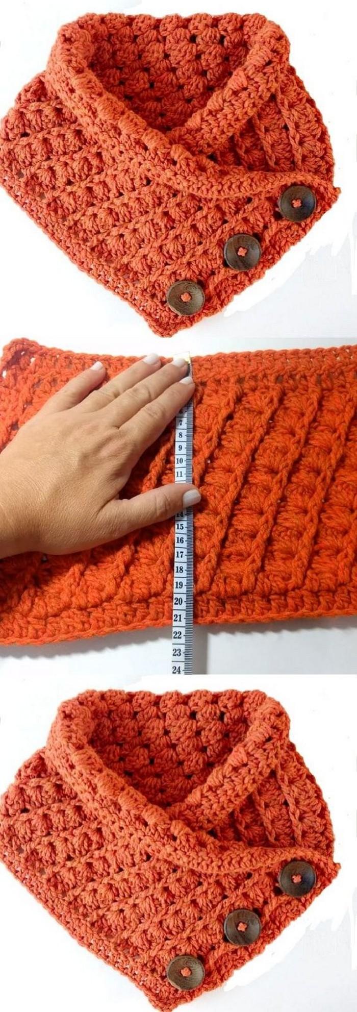 Nice Cowl Free Crochet Pattern