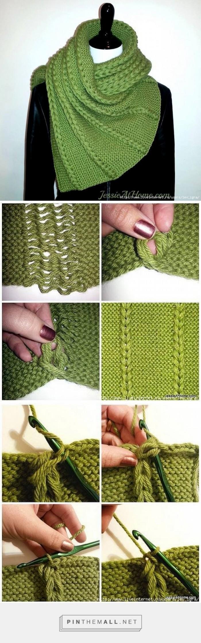 Stylish Scarf Free Crochet Pattern