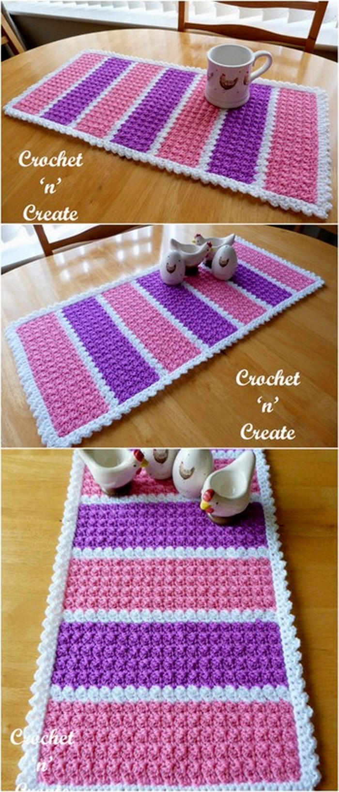 Simple And Nice Mat Free Crochet Pattern