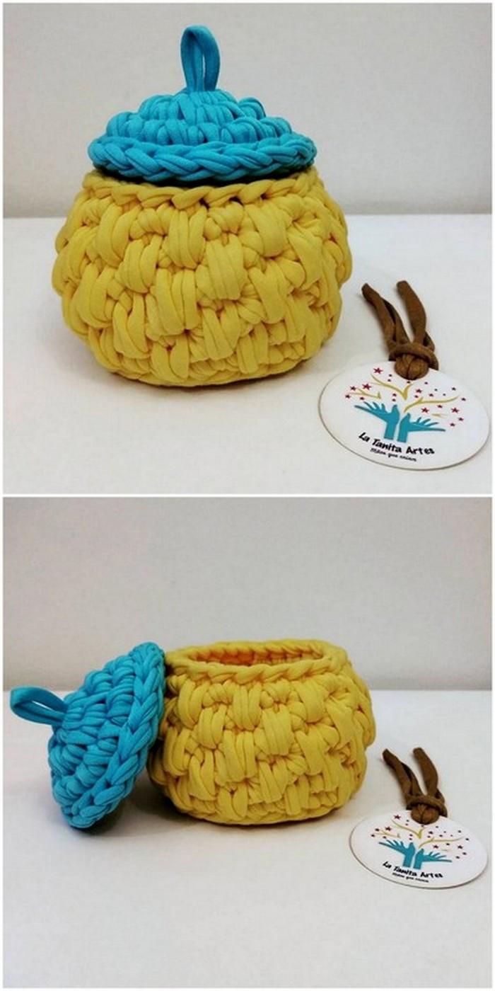 Nice Lid Pot Free Crochet pattern