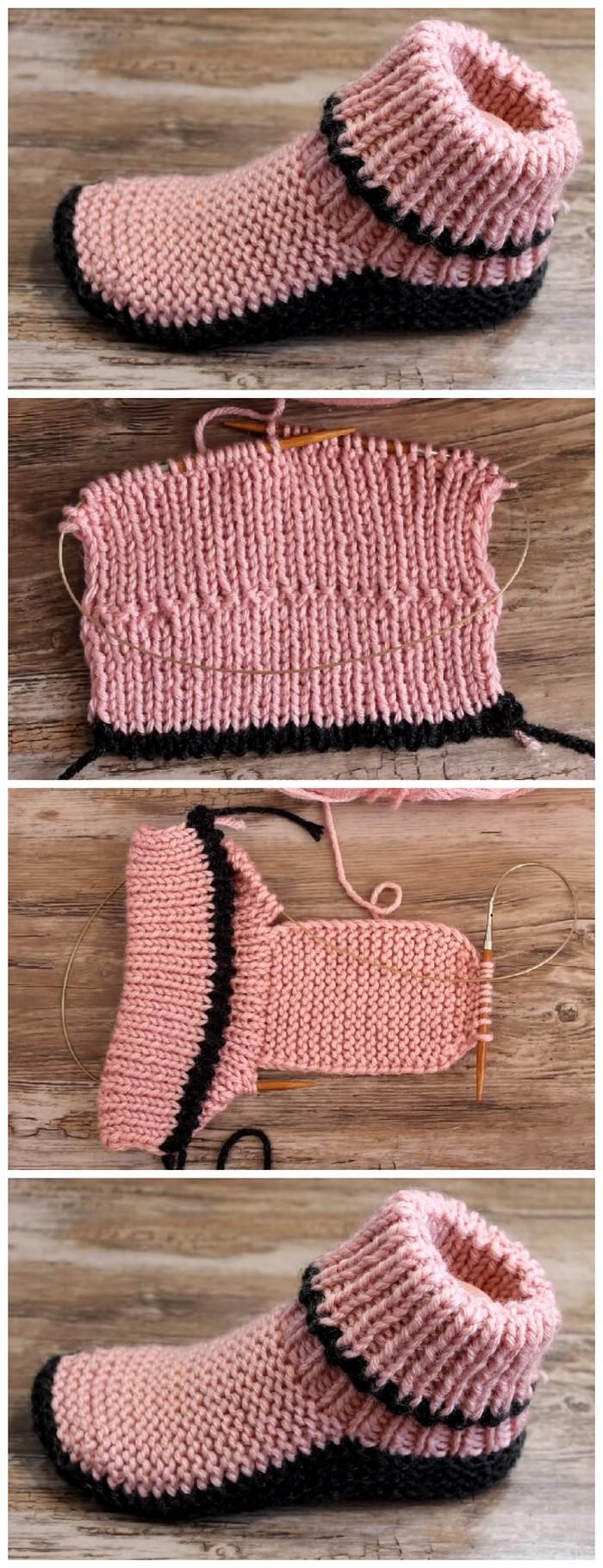 Winter Warm Shoes Free crochet pattern
