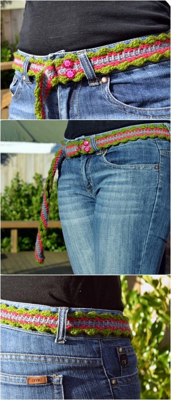 Waist Belt Free Crochet pattern