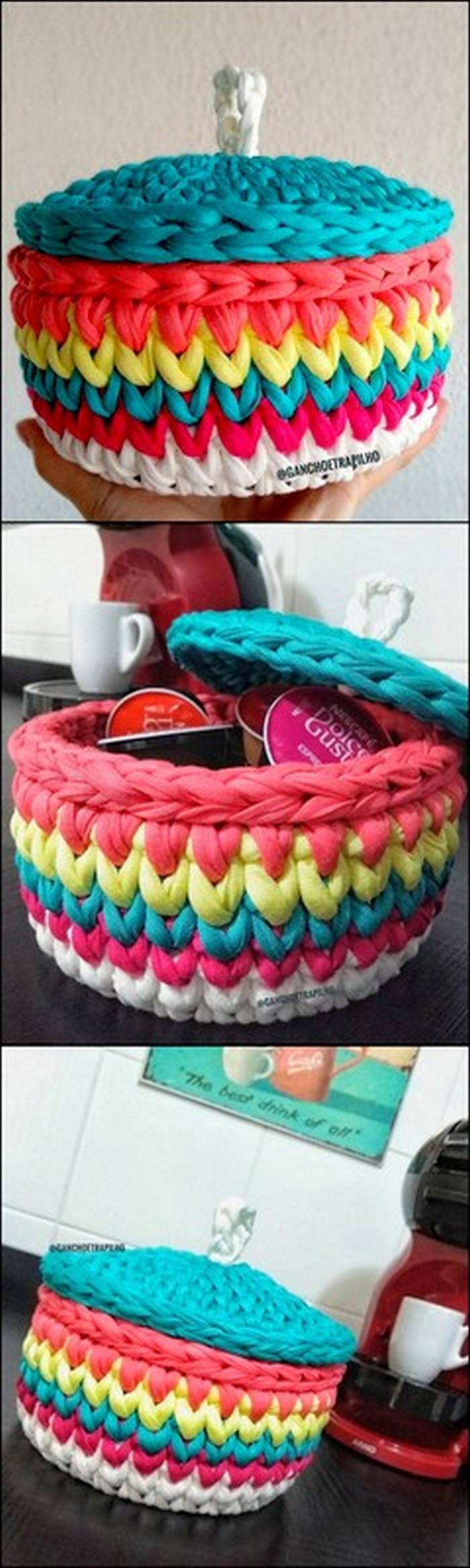 Lid Pot Free Crochet Pattern