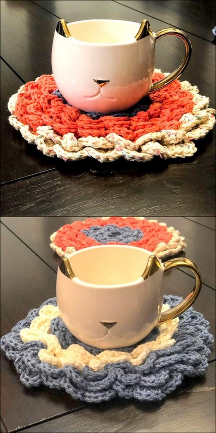 Mug Mat Free Crochet Pattern