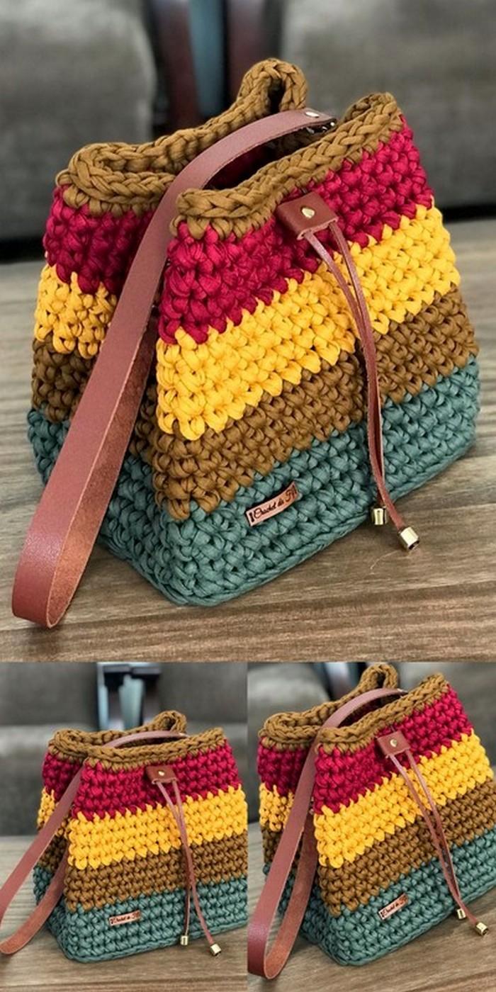 Nice Shoulder Bag Free Crochet Pattern