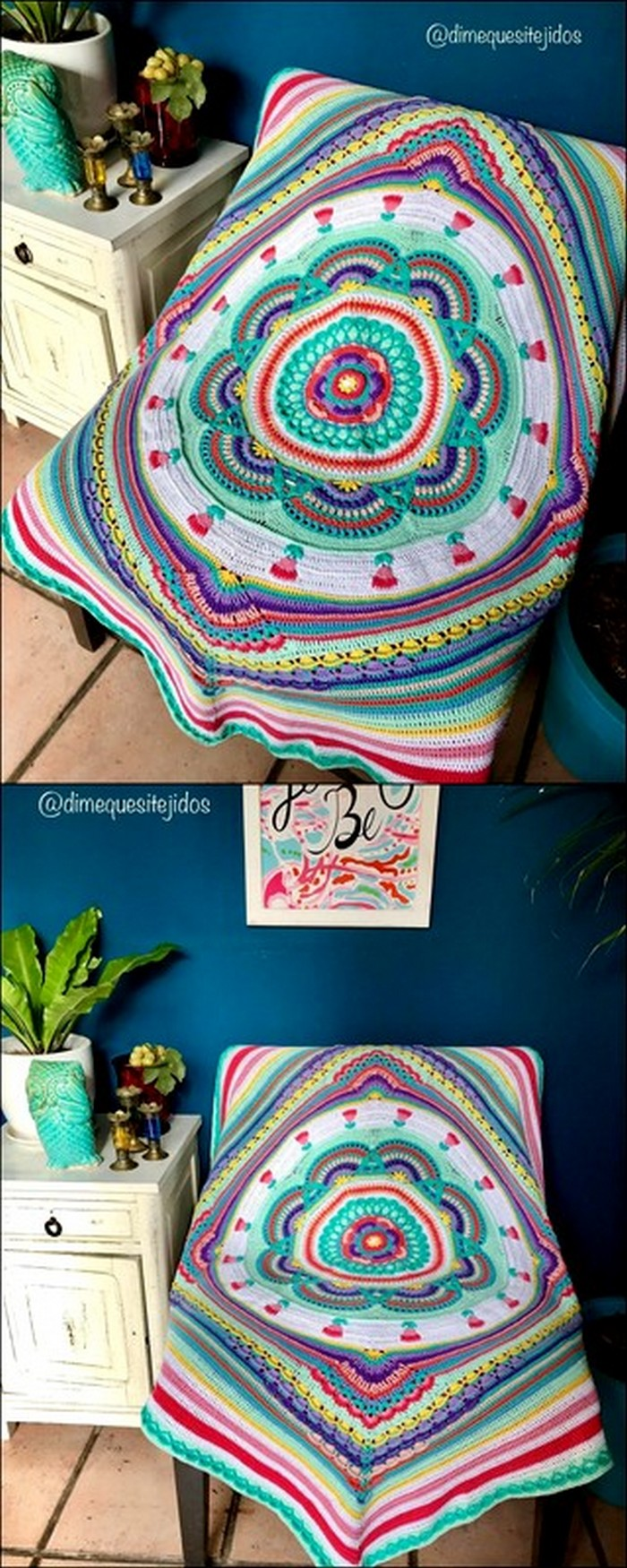 Classy Chair Cover Free Crochet Pattern