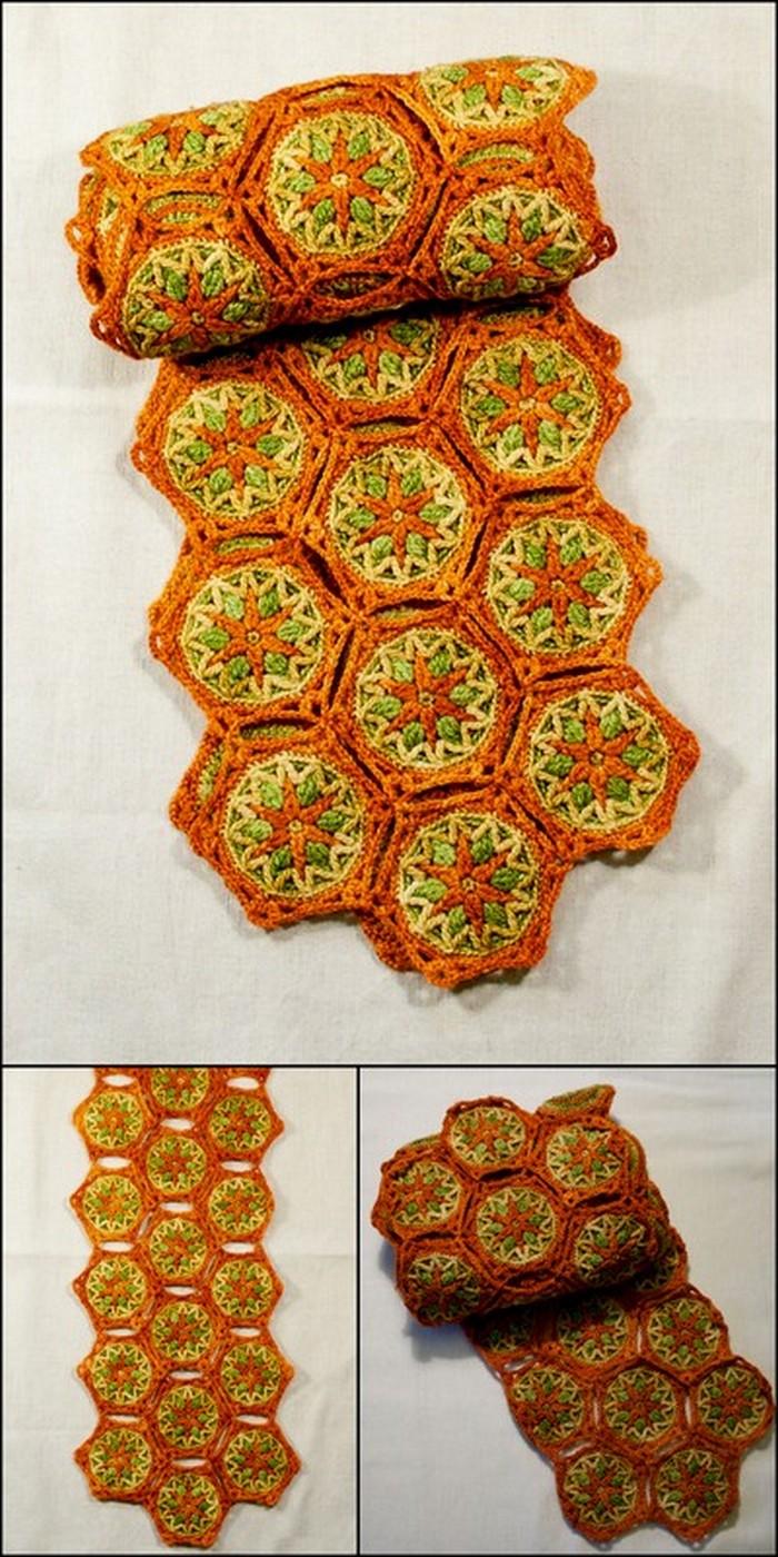 Easy to Make Table Runner Free Crochet Pattern