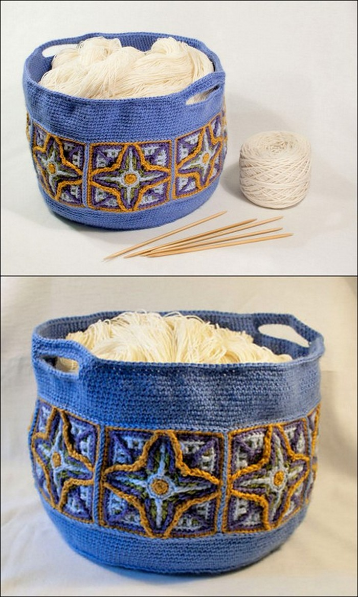 Fast And Easy Basket Free crochet Pattern