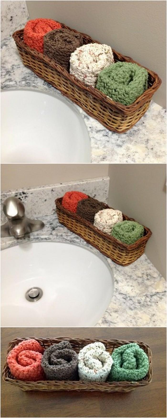 Face Towel Free Crochet Pattern.
