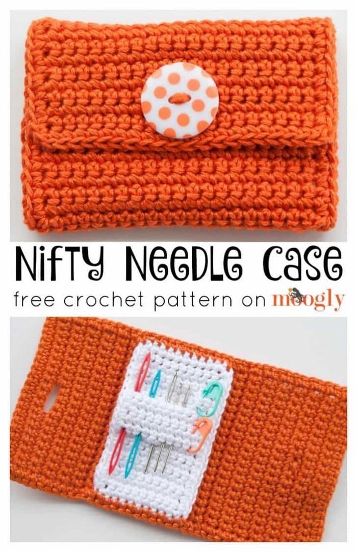 Nifty Needle Case Free Crochet Pattern