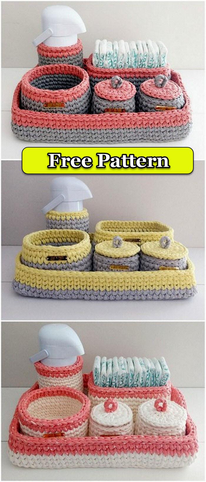 Wonderful Crochet Basket Pattern