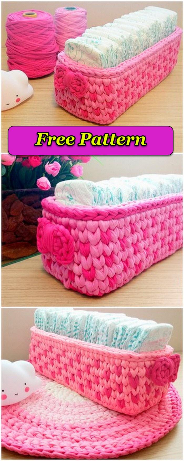 Cute crochet baby case free pattern