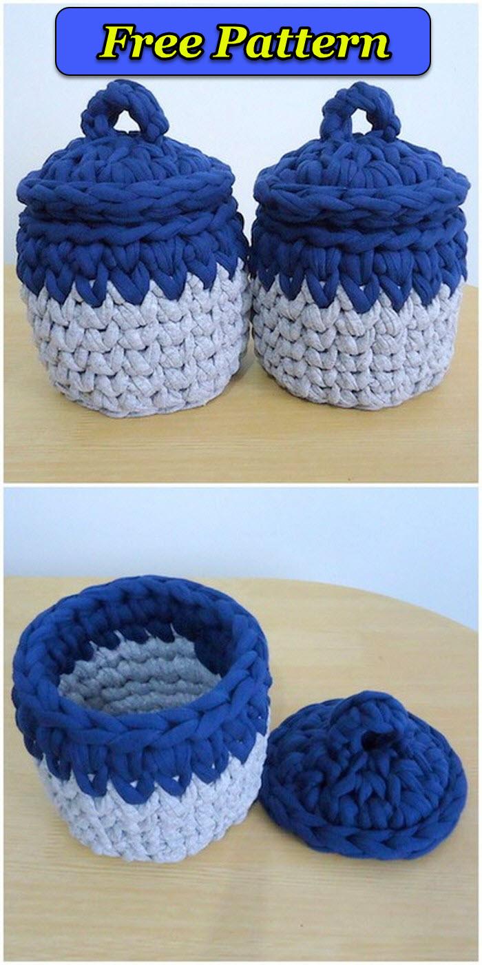 DIY Crochet Basket pattern